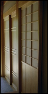 shoji screen and amado doors