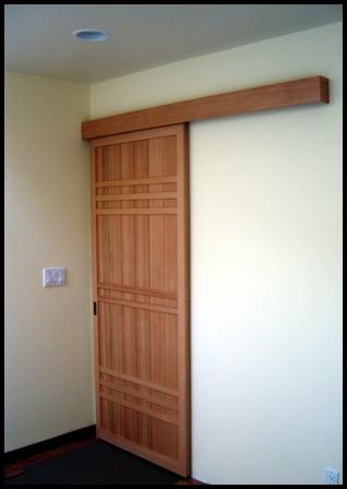 Japanese Amado Closet Door | Pacific Shoji Works
